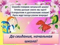 Плакаты Выпускной в начальной школе